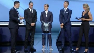 Гризманн: «Справедливо, что лучшим игроком сезона назван Роналду»