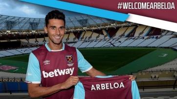 Официально: Альваро Арбелоа стал игроком «Вест Хэма»