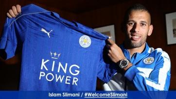 Ислам Слимани стал игроком «Лестера»