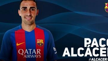 Фернандес: «Алькасер готов быть запасным форвардом «Барселоны»