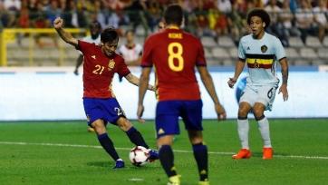 Сборная Испании обыграла бельгийцев