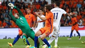 Голландцы снова опозорились, уступив грекам