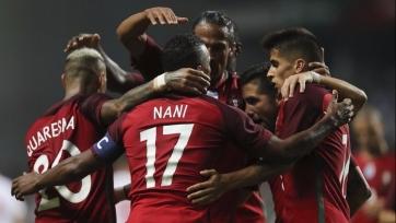 Сборная Португалии забила пять безответных голов Гибралтару