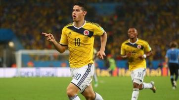 Сборная Колумбии забила два безответных мяча Венесуэле