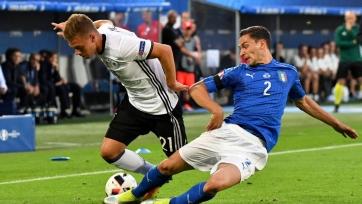 Сборные Италии и Германии проведут товарищеской поединок пятнадцатого ноября