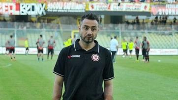 Новым главным тренером «Палермо» станет Де Зерби