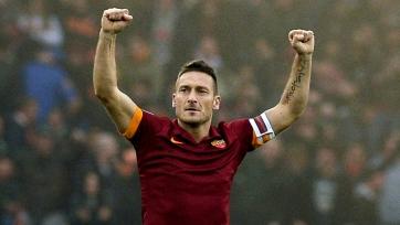 Тотти: «Рома» постарается держаться недалеко от «Ювентуса»