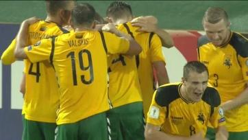 Сборная Литвы упустила победу в матче со словенцами