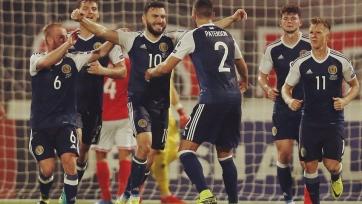 Шотландия разгромила на выезде Мальту