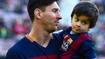 Месси: «Мой сын не любит футбол»