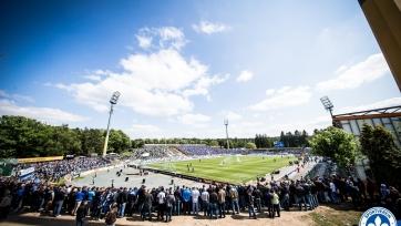 Немецкий «Дармштадт» на один сезон сменил название стадиона