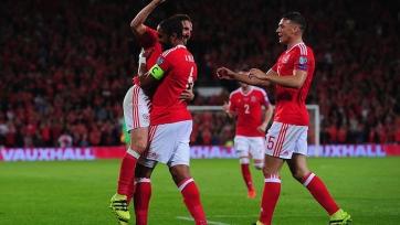 Джо Аллен ждал семь лет свой первый гол за сборную Уэльса
