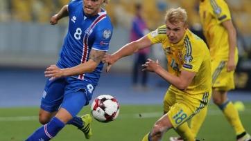 Сборная Украины не сумела переиграть исландцев