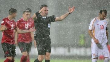 Албания сумела дожать Македонию