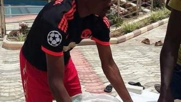 Муса удивил фанатов тем, что носит футболку «Манчестер Юнайтед»