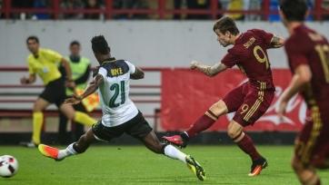 Смолов: «Сейчас все без исключения игроки сборной должны отбирать мяч, в том числе и нападающие»
