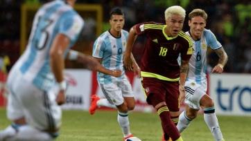 Аргентина сумела вырвать ничью у Венесуэлы