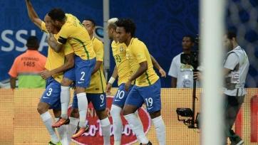 Сборная Бразилии переиграла колумбийцев