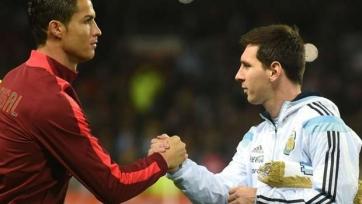 Хави: «Роналду один из лучших сегодня, Месси – один из лучших за все времена»