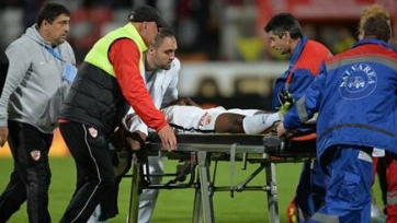 В Испании арбитр спас жизнь футболисту