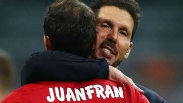 Хуанфран: «Не могу представить себе «Атлетико» без Симеоне»