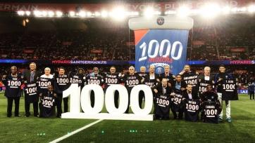 ПСЖ не сумел переиграть «Сент-Этьен» в тысячном матче на «Парк де Пренс»