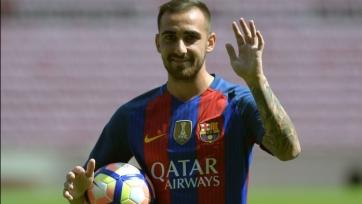 Луис Энрике: «Алькасер доволен, что перешёл в «Барселону»