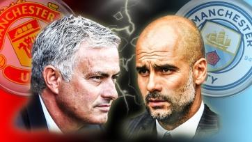 Анонс. «Манчестер Юнайтед» – «Манчестер Сити». Моуринью против Гвардиолы