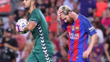 «Барселона» сенсационно оступилась дома в матче с «Алавесом»