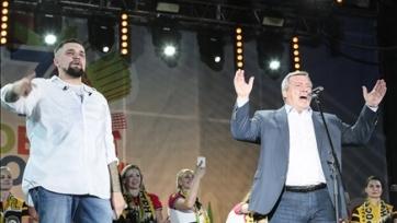 Рэпер Баста составил Лопырёвой компанию в качестве посла Ростова на ЧМ