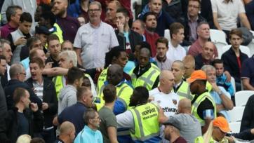 Фанаты, которые были замечены в драке на матче с «Уотфордом», пожизненно не смогут посещать стадион «Вест Хэма»
