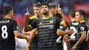 Дубль Косты спасает «Челси» от поражения в матче с «Суонси»