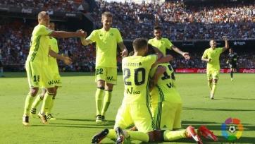 Гол Гарая не помог «Валенсии» уйти от поражения в поединке с «Бетисом»