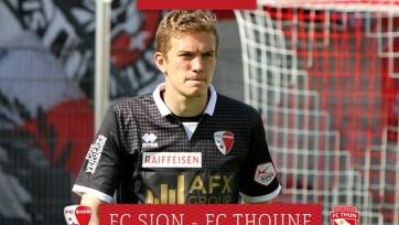 Антон Митрюшкин – лучший игрок матча «Сьон» - «Тун»