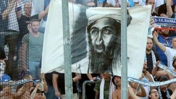 Радикальные фанаты ростокской «Ганзы» оскорбили память американцев 11-го сентября