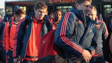 ЦСКА вылетел в Германию на матч против «Байера»