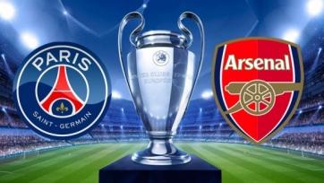 ПСЖ – «Арсенал», онлайн-трансляция. Стартовые составы команд