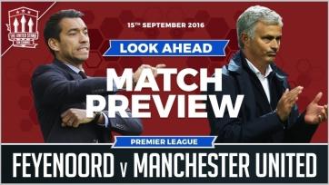«Фейеноорд» - «Манчестер Юнайтед», онлайн-трансляция. Стартовые составы команд