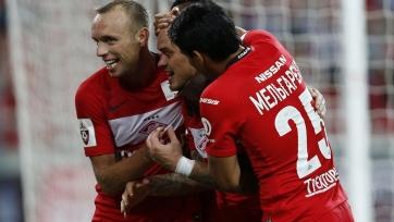 «Спартак» отправился на матч с «Оренбургом» без Глушакова и Мельгарехо
