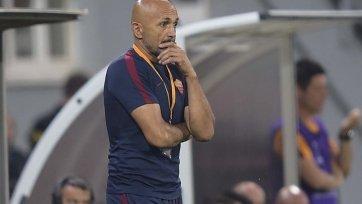 Спаллетти: «Рома» может и должна играть лучше»