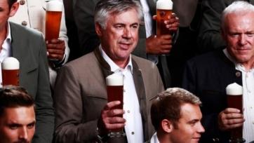 Карло Анчелотти: «Я знаю, сколько смогу выпить вина, но не пива»
