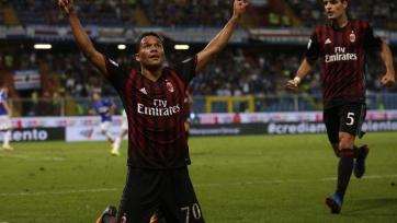 Гол Бакки за пять минут до конца игры принёс «Милану» победу над «Сампдорией»