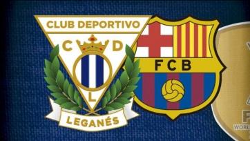 «Леганес» – «Барселона», онлайн-трансляция. Стартовые составы