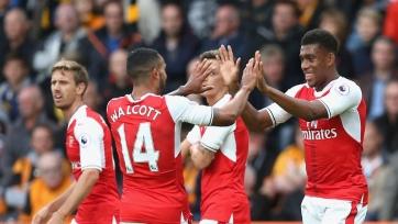 «Арсенал» крупно переиграл «Халл», «Вест Хэм» уступил ВБА