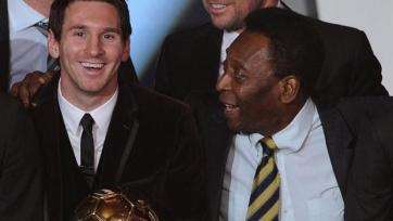 Пеле: «Месси – лучший игрок мира последних 15 лет»