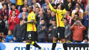 «Манчестер Юнайтед» проиграл на выезде «Уотфорду»