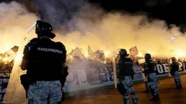 Восемь раненых и сорок четыре арестованных – таков итог белградского дерби