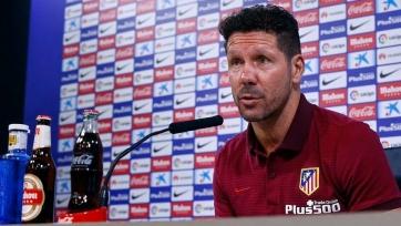 Симеоне: «Цель «Атлетико» - улучшать свою игру, а не гнаться за «Реалом» и «Барсой»