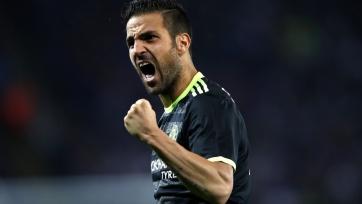 Конте: «Фабрегас потрясающе сыграл, когда «Челси» нуждался в его помощи»