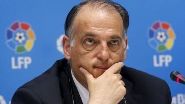 Хавьер Тебас подал в отставку с должности президента LFP